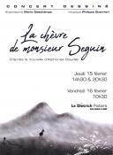Concert dessiné / La Chèvre de Monsieur Seguin